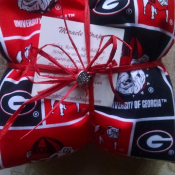 Georgia Football Miracle Wrap Heat Pack