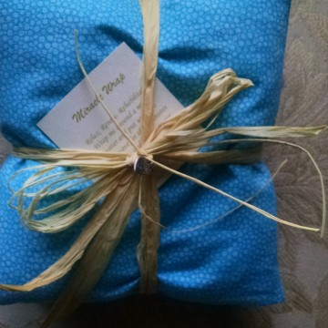 Turquiose Blue Miracle Wrap Heat Pack